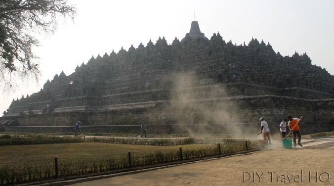 Huge Monument Borobudur