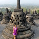 Borobudur by Local Bus from Yogyakarta