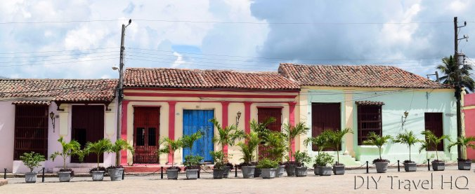 Colourful houses of Camaguey