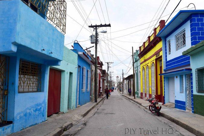 Restored streets Unesco Camaguey