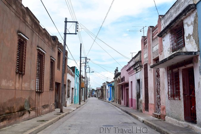 500 year old streets of Camaguey
