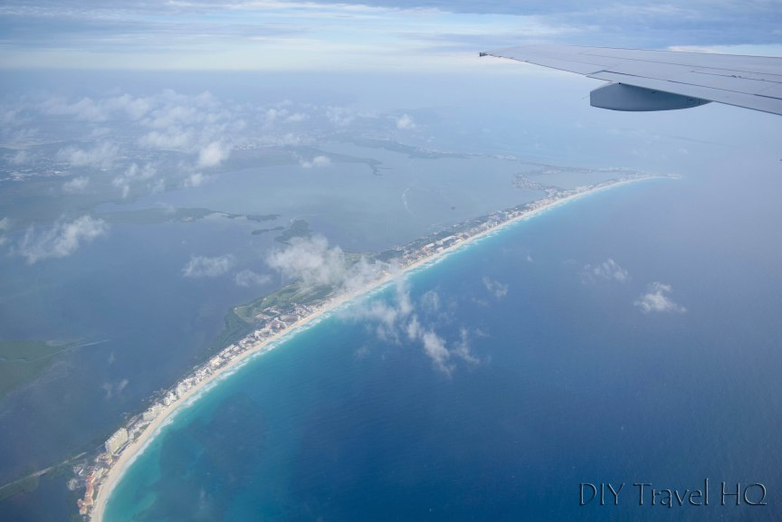 Flying from Cancun to Havana