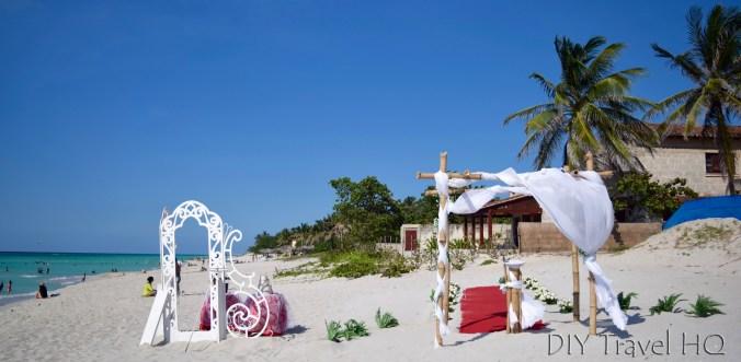 Wedding on Varadero Beach