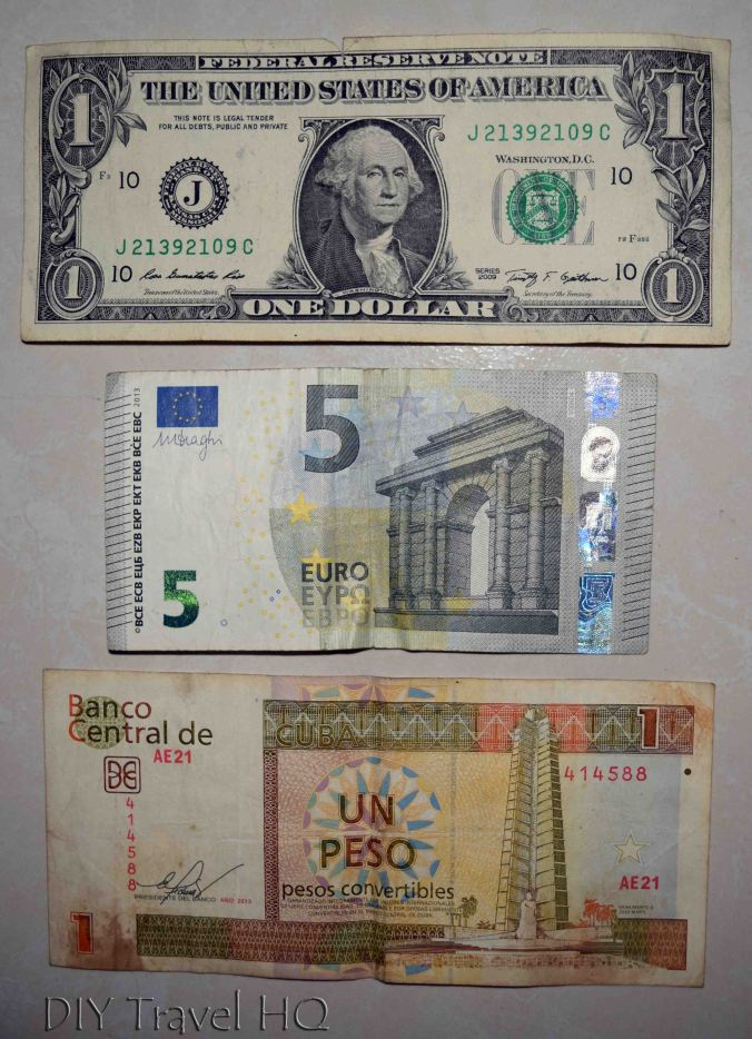 Best to Exchange US dollars to Euros and then to Cuban CUC