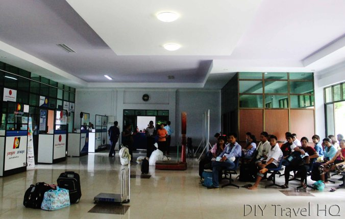 Immigration at Dawei Airport