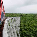 Onboard the Gokteik Viaduct Train from Hsipaw