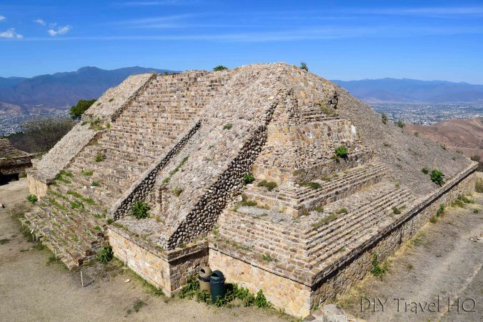 Monte Alban Ruins the VG Complex South Temple