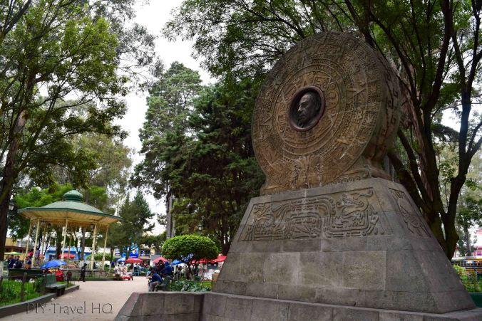 Quetzaltenango (Xela) Parque Benito Juarez