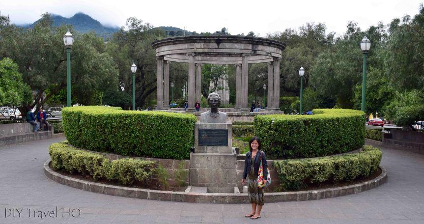 Quetzaltenango (Xela) Parque Centro America with Sheena
