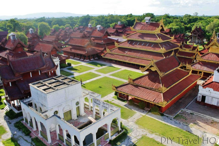 Overview of Mandalay Palace