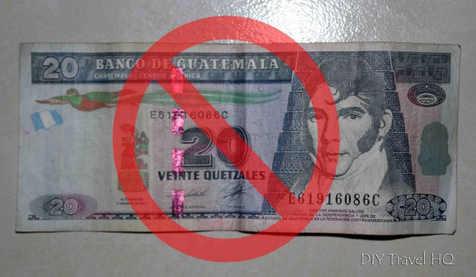 Say No to Guatemala Unofficial Entrance Exit Fee