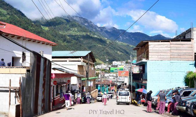 Todos Santos Cuchumatan Main Street