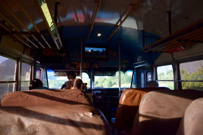 Volcan Santa Maria Chicken Bus