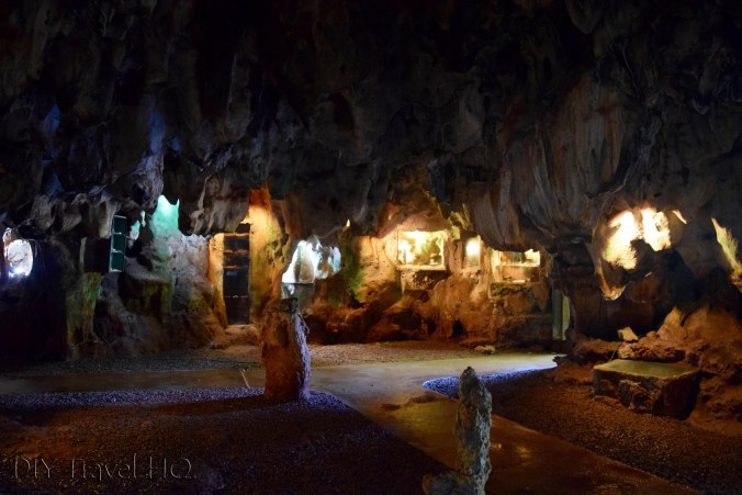 Inside the Museo Arqueopogico caves