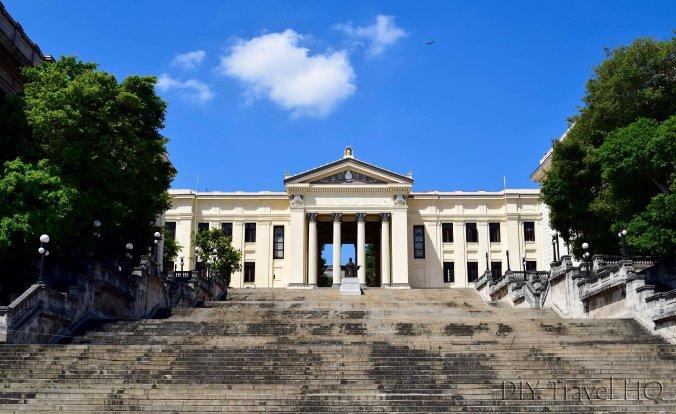 Havana Vedado Universidad de la Habana and Alma Mater Statue