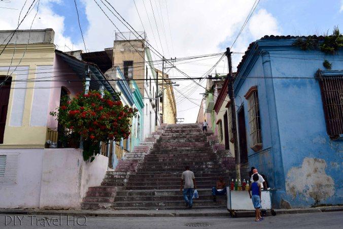Padre Pico Steps in Tivoli