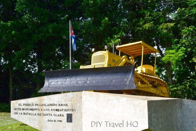 Bulldozer from Battle of Santa Clara