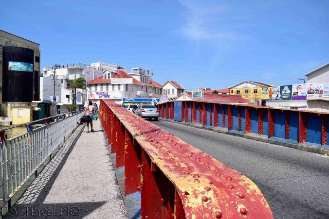 Swing Bridge in Belize City