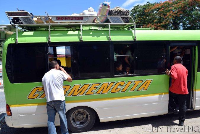 El Rancho to Coban Microbus