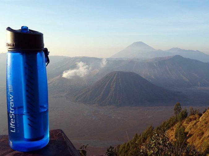LifeStraw at Mount Bromo
