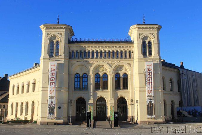 Nobel Peace Centre building