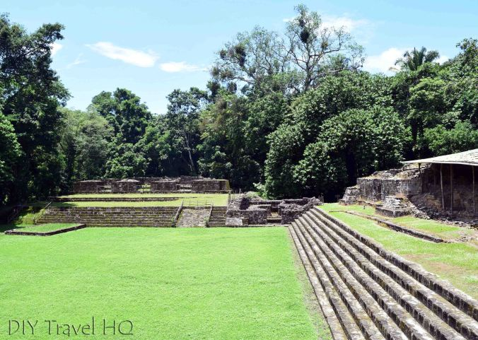 Quirigua Acropolis Plaza