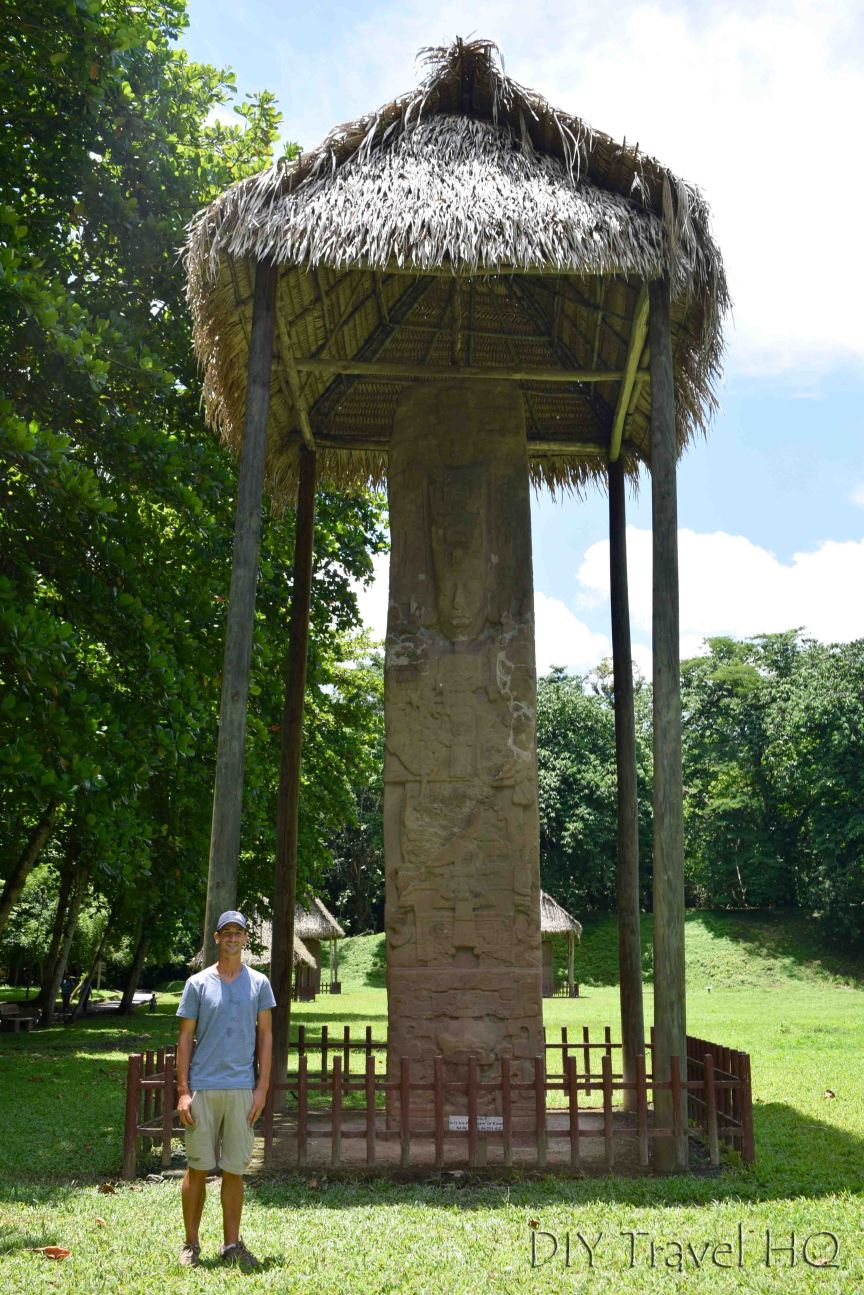 Quirigua UNESCO Worthy Stelae and Zoomorphs