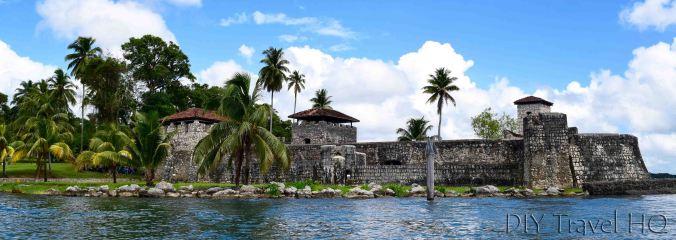 Rio Dulce Town Castillo de San Felipe