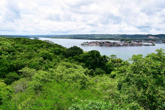 San Miguel Lookout Tower View of Flores