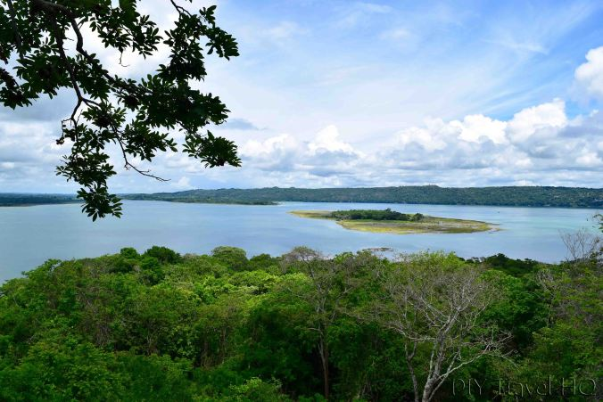 San Miguel Lookout Tower View of Peten Itza Lake
