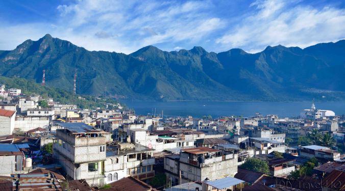 Stunning view of San Pedro La Laguna