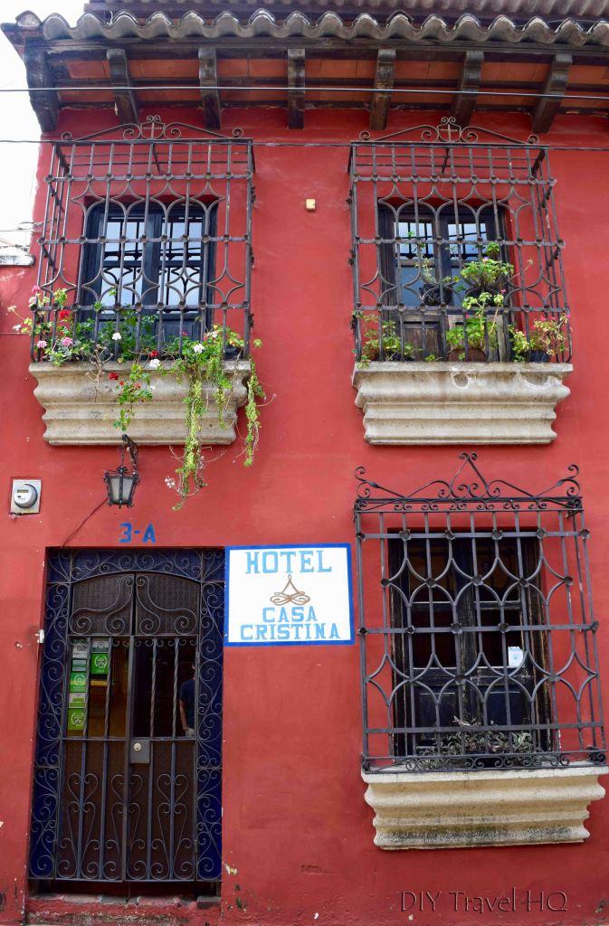Entrance to Casa Cristina