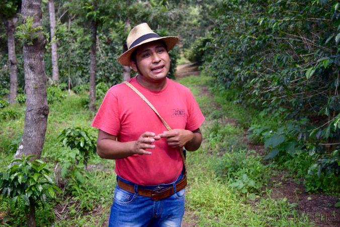 Gustavo local farmer in Antigua