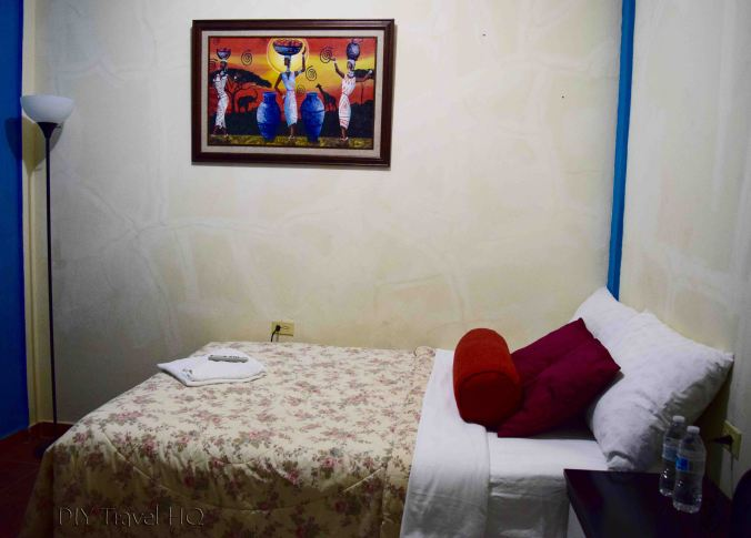 Simple room at Los Portones de Ataco