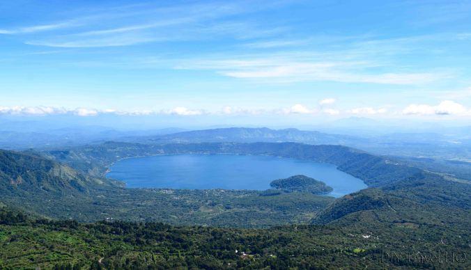 Lago de Coatepeque View from Cerro Verde