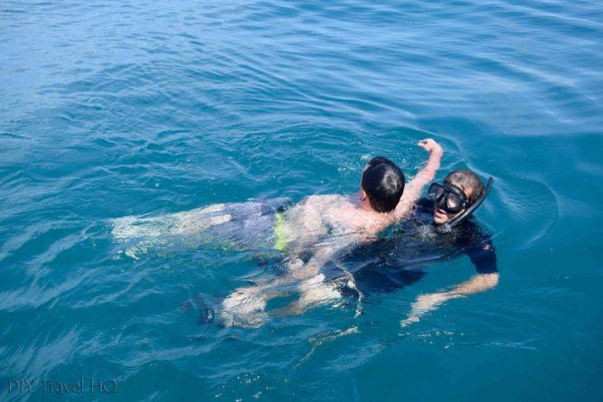 PADI dive course Utila