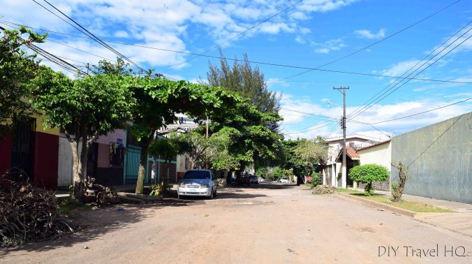 Santa Ana Dirt Roads in the City