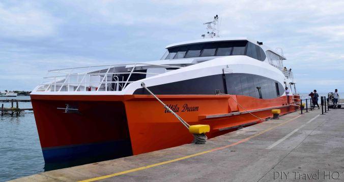 Utila Dream ferry