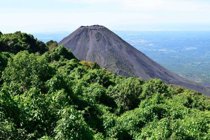 Volcan Izalco View from Cerro Verde