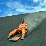 Volcano Boarding on Cerro Negro with Bigfoot