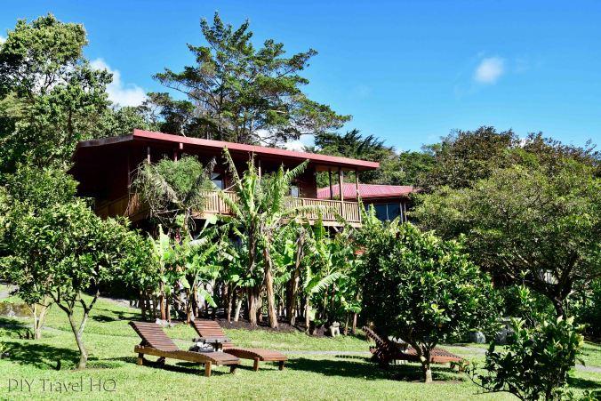 Garden at Arco Iris Lodge