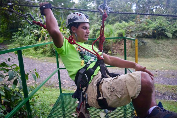 Canopy Tour guide