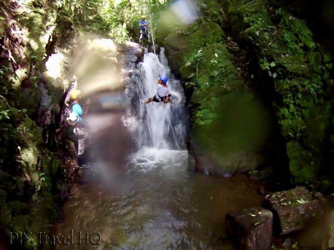 Finca Modelo canyoning tour