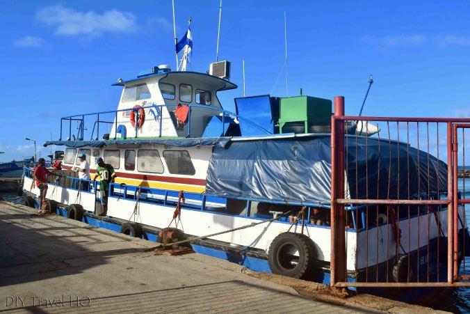 Rio Escondido Ferry Bluefields to Big Corn Island