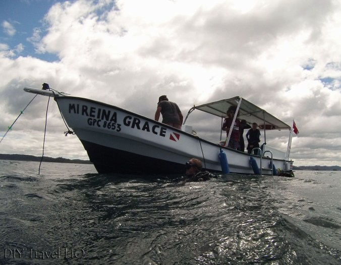 Sirenas Dive Boat Mireina Grace