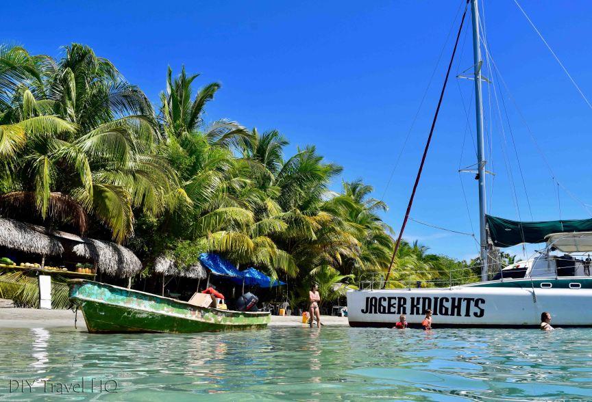 Jager Knights catamaran tours