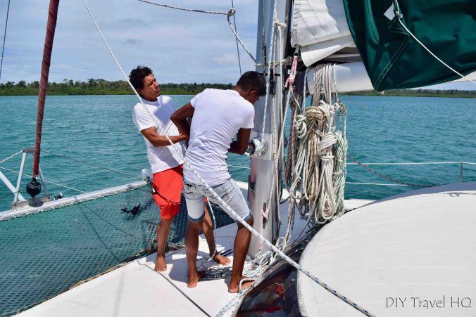 Sailing Bocas del Toro