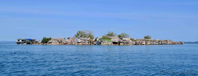 Guna Inhabited San Blas Island