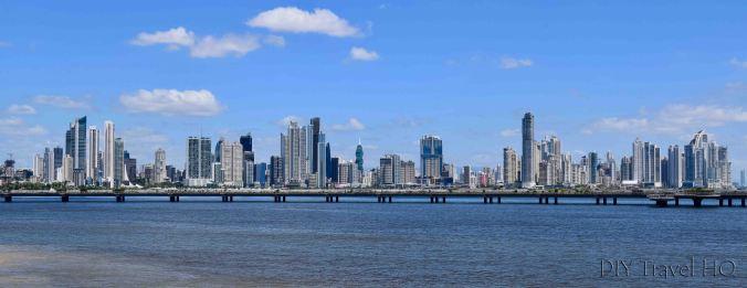 Panama City Skyline of Business District