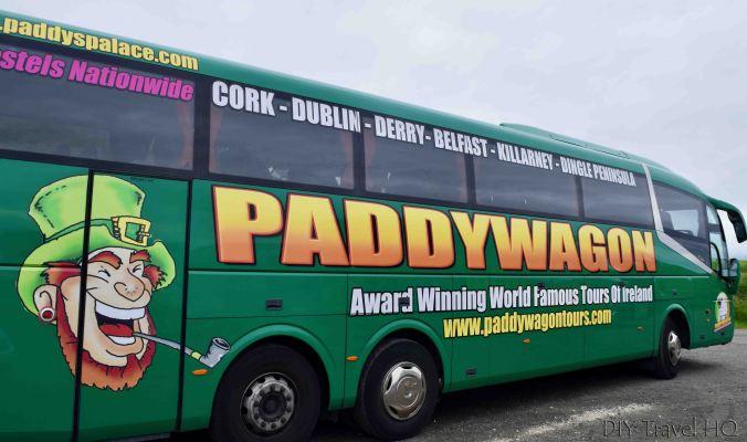 Paddywagon Tours bus